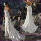Decent/Spaghetti Strap/Sweetheart  Nechline/Appliques&Beadings/A-Line/wedding dress/YY150
