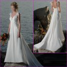 Free Shipping !Seductive/Sweetheart Neckline/Chiffon&Satin/A-Line/Bridal Wedding Dress/YY151