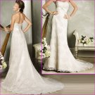 Free Shipping!! Taseful/Strapless/A-Line/Floor length/Wedding Dress/YY177