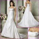 Free Shipping!1Beautiful/Spaghetti Strap/with Beading/Taffeta/A-Line/wedding dress/YY179