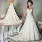 Graceful/Strapless/Sweetheart Neckline/Appliques&Beadings/Floor -Length/Wedding Dress/YY182