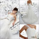 Free shipping!!Recherche/One-shouder/Meimaid/Floor-Length/Wedding Dress/YY190