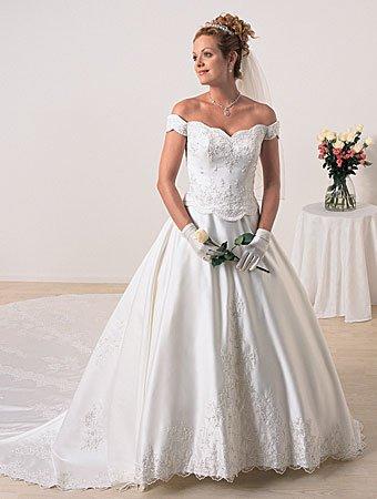 Luxurious/Cap Sleeveless/Sweetheart Neckline/A-Line/Princess/Floor Length/Bridal Gown/AA116