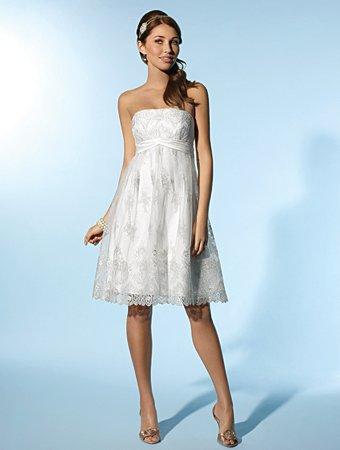 Free Shipping!!Lovely/Strapless/Knee Length/Wedding Dress/AA118