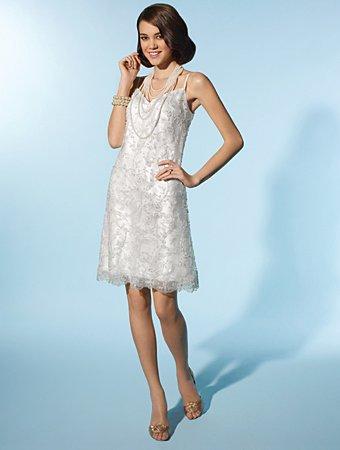 Free Shipping!! Lovely/Spaghetti Strap/Sweetheart Neckline/Knee Length/Wedding Dress/AA119