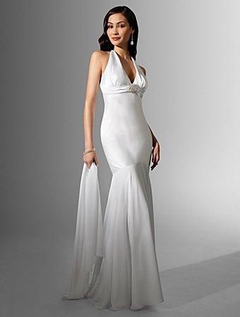 Free Shipping!!Elegant/Halter/Sweetheart Neckline/Mermaid/Trumpet/wedding Dress/AA124
