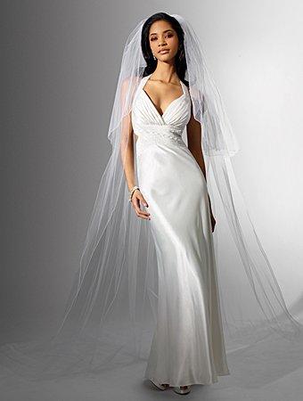 Inviting/Halter/Sweetheart Neckliner/A-Line/Floor Length/Wedding Dress/AA127
