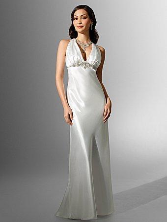 Tempting/Sweetheart Neckline/Halter/A-Line/Floor Length/Wedding Dress/AA130