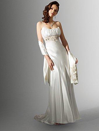 Free Shipping!!Recherche/Speghetti Strap/A-line/Wedding Dress/AA138
