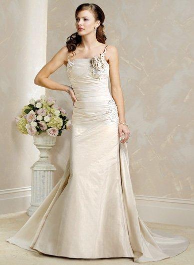 Free Shipping!!Elegant/One Should/Girdle/A-Line/Princess/Wedding Dress/BR005