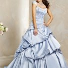 Exquisite/Detachable/Cap Sleeves/A-Line/Princess/Floor Length/Wedding Dress/BR019