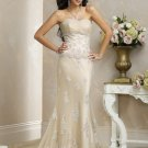 Free Shipping!!Recherche/Strapless/Mermaid/Trumpet/Floor Length/Wedding Dress/BR030