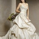 Elegant/Sweetheart Neckline/A-Line/Princess/Custom made/Free Color/Bridal Gown/BR045
