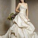 Elegant/Sweetheart Neckline/A-Line/Princess/Custom made/Free Color/Bridal Gown/BR045