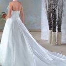 Elegant/Halter/Sweetheart Neckline/A-Line/Princess/Custom-made/plus size/wedding Dress/PS017