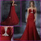 Hot selling/Strapless/A-Line/Satin/wedding dress/YY104