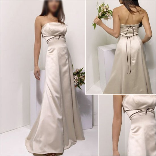 Free Shipping!!Acctractive/Strapless/Floor-Length/evening dress/party dress/AD030