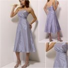 Free Shipping!!Acctractive/Strapless/Tea-Length/evening dress/party dress/AD031