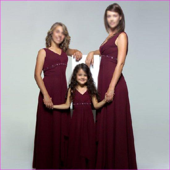 Free Shipping! Elegant/Sweetheart Neckline/Floor-Length/Chiffon/evening dress/party dress/LN002