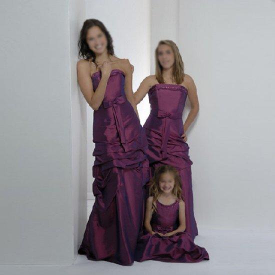 Free Shipping! Strapless/Floor-Length/Taffeta/evening dress/party dress/LN004