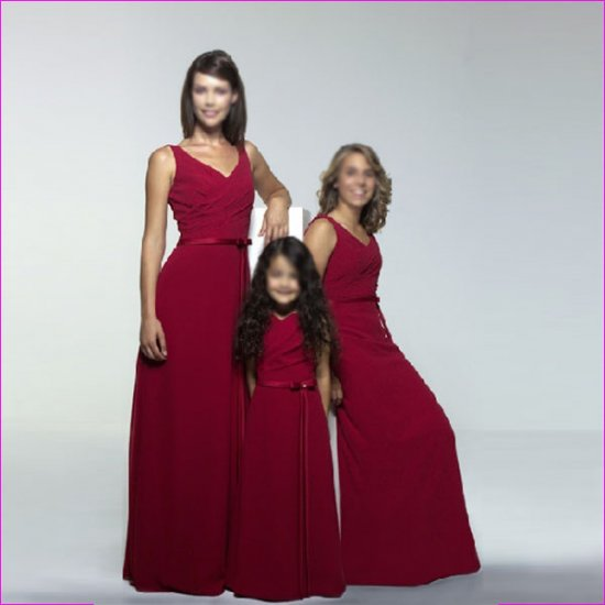 Free Shipping+10%discount/A-line/V-Neck/Floor-Length/Chiffon/evening dress/party dress/LN005