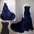 Gracefull Strapless/Beading/Taffeta/A-Line/Floor Length/Mother of bridal dress/HS015