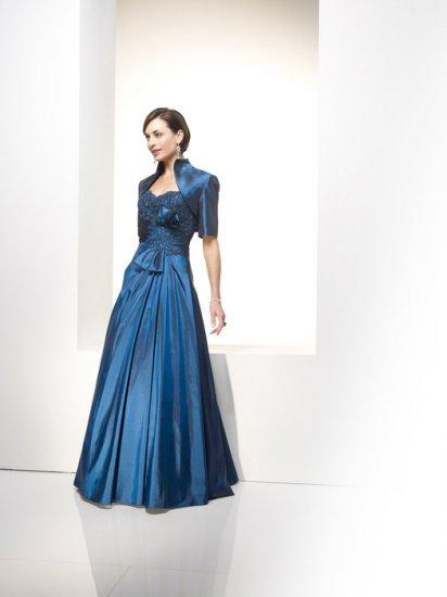 A-line/Sweetheart/Satin/Floor Length/Mother of bridal dress/FR001