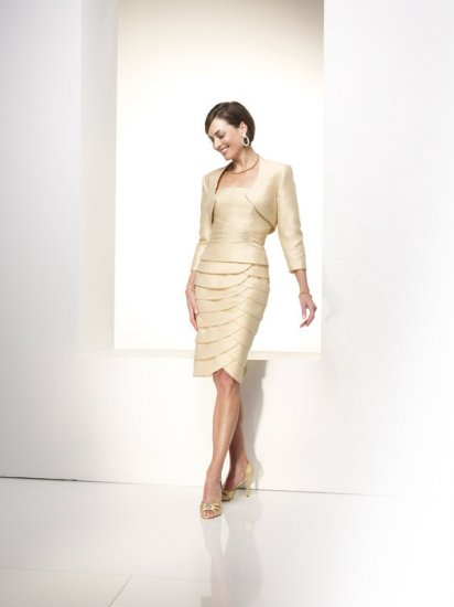 Free Shipping+10%discount/Sheath/Strapless/Satin/knee high/Mother of bridal dress/FR002
