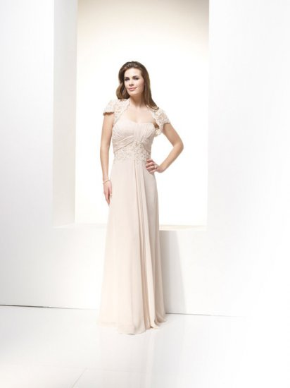 A-line/Sweatheart/Chiffon/Floor length/Mother of bridal dress/FR007