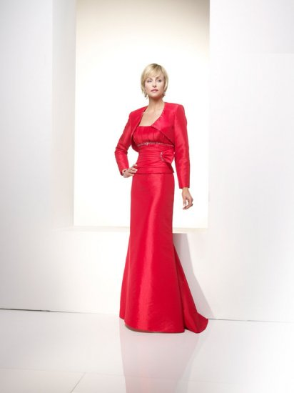 Free Shipping/Sheath/Sweetheart/Satin/Floor Length/Mother of bridal dress/FR010