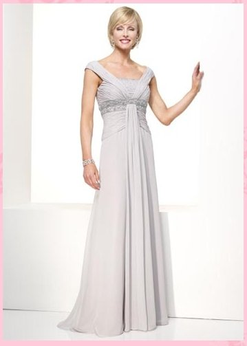 Free Shipping/A-line/Off the shoulder/Chiffon/Floor length/Mother of bridal dress/FR048