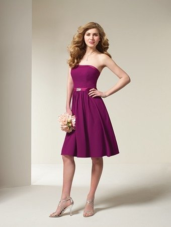 Free Shipping! Elegant/Strapless/Knee-Length/Stratch Satin/evening dress/party dress/LF004