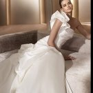 Free Shipping/2011 New arrival/A-line/One-Shoulder/Satin/Chapel train/Bridal Wedding Dress/GG006