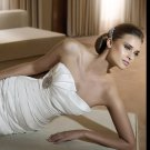Free Shipping/2011 New arrival/A-line/Sweatheart/Satin/Chapel train/Bridal Wedding Dress/GG006