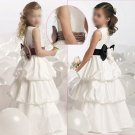 Free Shipping/A-line/Sleeveless/Taffeta/Floor-Length/Flower girls dresses/FG018