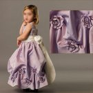 Free Shipping/A-line/Sleeveless/Taffeta/Ankle-Length/Flower girls dresses/FG069