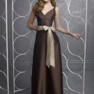 Free Shipping/A-Line/Sleeveless/Taffeta/Floor-Length/Evening dress/wedding gown/BU36