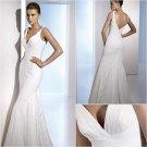 Free Shipping/2011 New arrival/A-line/Sleeveless/Taffeta/Floor length/Wedding Dress/A1051