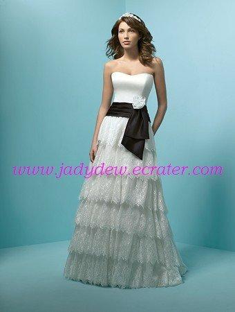 Decent/Strapless/A-Line/Princess/Wedding Dress/AA072