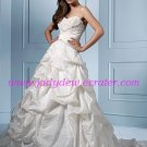 Chic/Sweetheart  Neckline/A-Line/Princess/Floor Length/Taffeta/with Beading/Wedding Dress/AA067