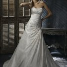 Free Shipping/A-line/Sweatheart/Taffeta/Chapel train/Bridal Wedding Dress/GG109