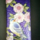 De La Luna Bird Life Design Leather Wallet