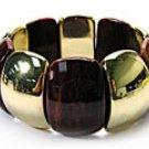 Brown Chunky Bead Bracelet