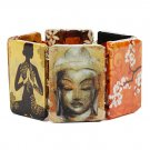 Asian Theme Stretch Bracelet