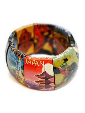 Destination Theme Link Bracelet