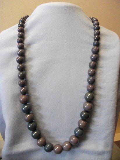 Plastic Bead Set Blue & Grey