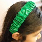 Green Scruchy Headband