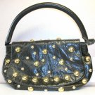 Olive Green with Gold Stud Handbag