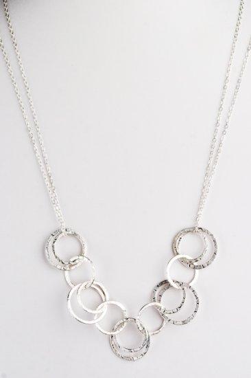 Ofina Circle Link 14kt Gold Necklace