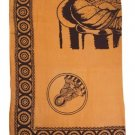 Buddha Design Cotton Sheet Item 35340